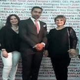 Georges Thevenet, Katherine Cocco, Oscar Abreu, Minerva de Cocco y Freddie Cabral