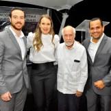 Gabriel Aspas, Iris Van Nes, Papia Báez y Gary Olivo.