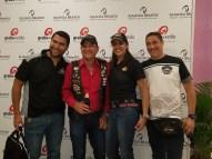 Ivan Castillo, Ignacio Glass, Geraldine Sanlley y Raúl Ramos.