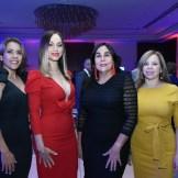 Aracelis Vargas, Aracelis Tavares, Maribel Veras y Lidia Placencia.