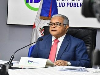 Ministro de Salud Pública, doctor Rafael Sánchez Cárdenas