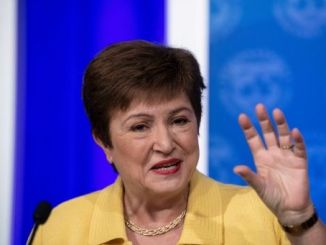 La directora general del FMI Kristalina Georgieva