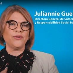 Juliannie Guerrero, directora general de Sostenibilidad y Responsabiliad Social