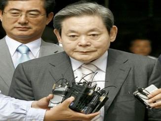 El presidente del grupo Samsung, Lee Kun-Hee, que falleció el 25 de octubre de 2020