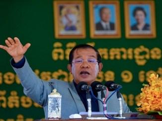 El primer ministro camboyano, Hun Sen,