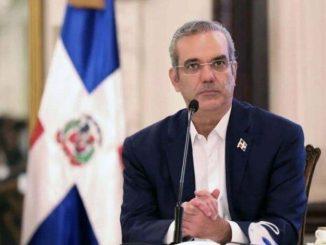 El presidente Luis Abinader
