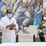 El Dr. Fredis de Jesús Reyes y María Isabel Tavárez