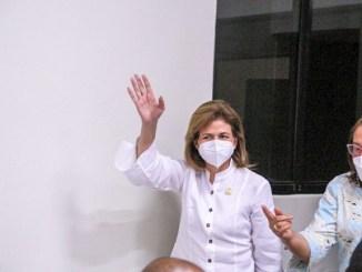 La vicepresidenta Raquel Peña garantizó que el gobierno está invirtiendo más de cuatro mil millones de pesos en la provincia de San Juan