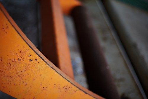 Orange and Concrete