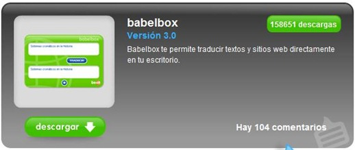 Babelbox - Traductor