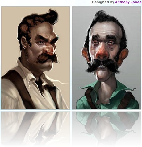 Mario y Luigi Anthony Jones