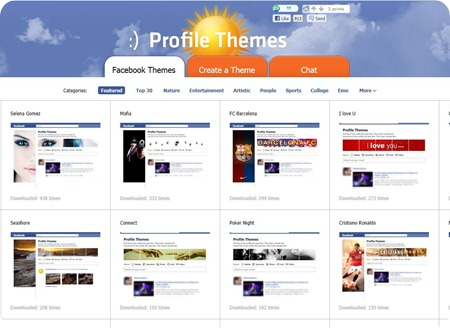 Profile Themes