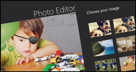 photo editor windows 8
