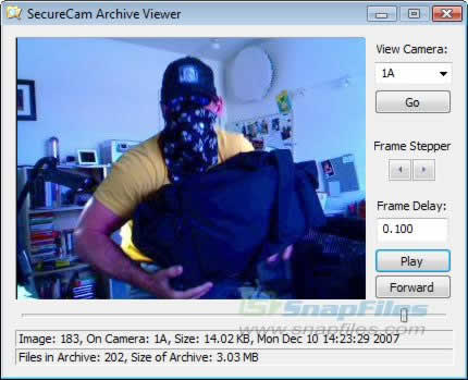 secure cam, seguridad webcam