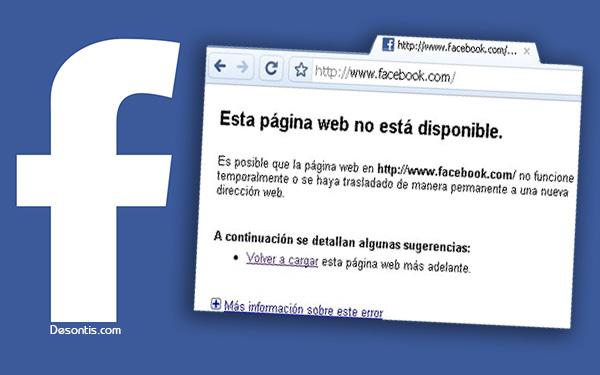 Facebook no carga
