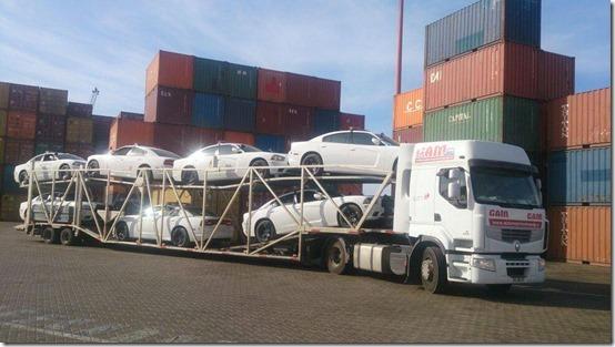 Nueva flota autos Carabineros de Chile