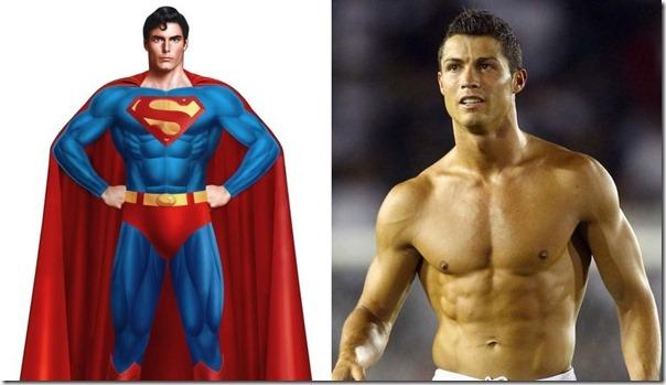 Cristiano Ronaldo - Superman