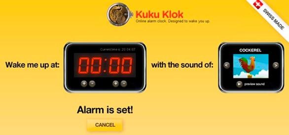 Despertador online para PC