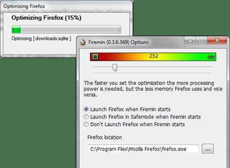 Firemin-Optmize-Firefox