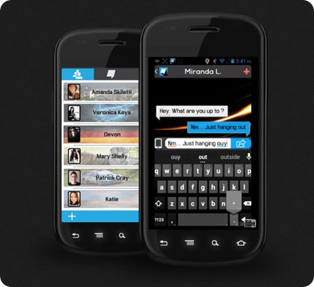 Beam Messenger Screen