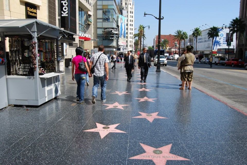 Paseo de la fama de Hollywood
