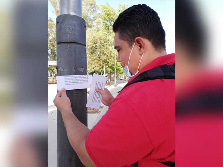 Neftalí Espinoza, ex trabajador de El Nuevo Diario.