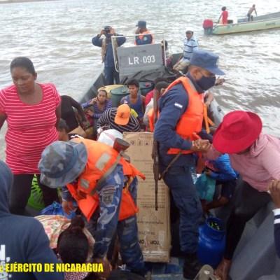 Evacuación Costa Caribe