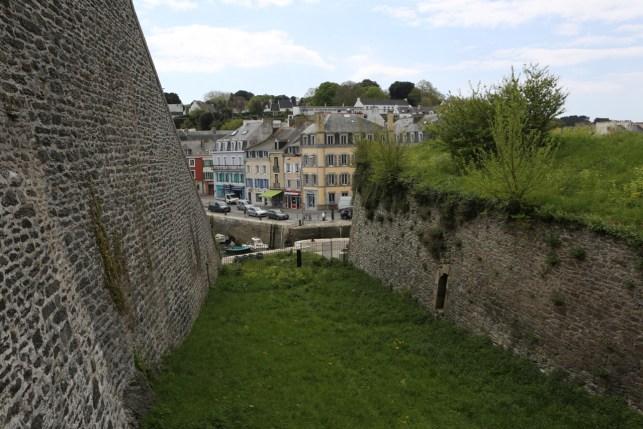 Le Palais depuis la Citadelle
