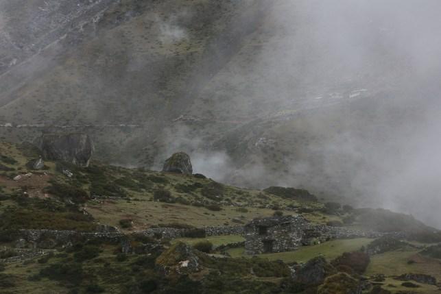 Maison de berger lors de la mousson