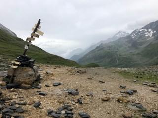 Col de la Croix du Bonhomme, glacial