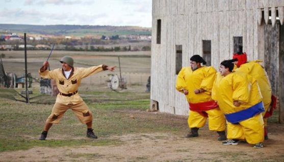 humor amarillo en coruña para despedidas