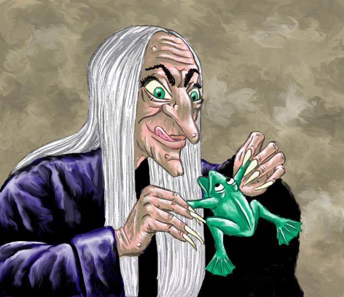 er zijn ook slechte heksen!!!