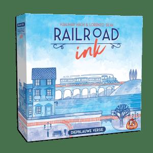 Railroad Ink: diepblauwe versie
