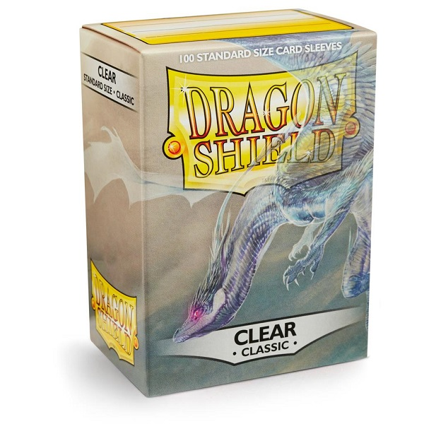 Sleeves Dragon Shield - Clear