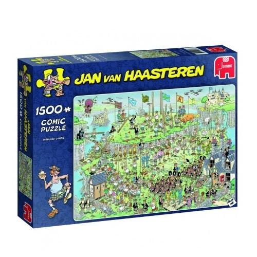 Highland Games - Jan van Haasteren (1500)