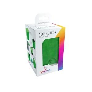 GameGenic: Squire 100+ Convertible Deckbox Green