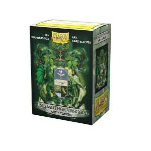 Sleeves Dragon Shield - Art King Mothar Vangar (100 stuks)