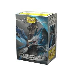 Sleeves Dragon Shield - Art Empire State Dragon (100 stuks)