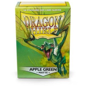 Sleeves Dragon Shield - Standard Matte Apple Green (100 stuks)