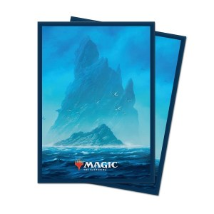 Sleeves Ultra Pro - MTG Unstable Lands Island (100 stuks)