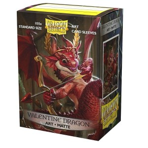 Sleeves Dragon Shield - Art Valentine Dragon 2020 (100 stuks)