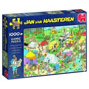 Kamperen in het Bos - Jan van Haasteren