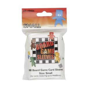 Board Game Sleeves: Small 44 x 68 mm (100 stuks)