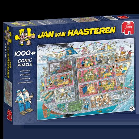 Cruiseschip - Jan van Haasteren (1000)