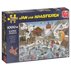 De Winterspelen - Jan van Haasteren (1000)