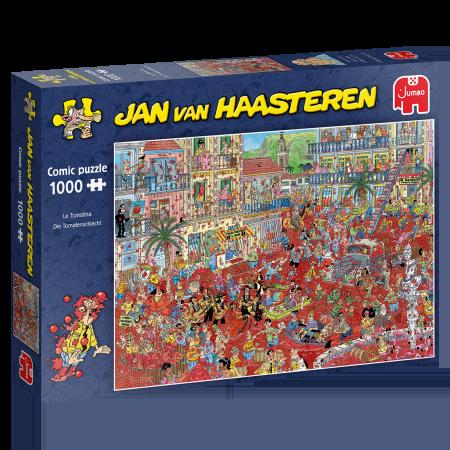 La Tomatina - Jan van Haasteren (1000)