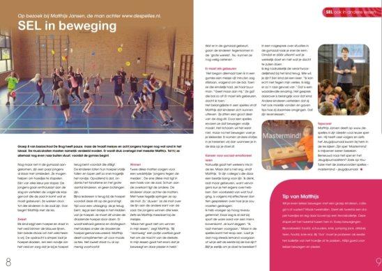 Kwint-magazine in De Spelles