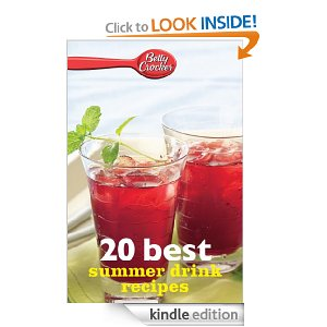 Free eBook: Betty Crocker 20 Best Summer Drink Recipes