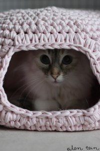 Crochet Kitty Condo Pattern