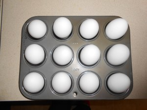 "Baked ""hardboiled"" eggs {pinterest fail}"